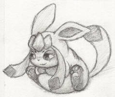 G...Glaceon? by haloopdy