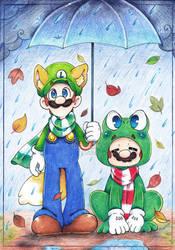.: Rainy Day :. by PaperLillie
