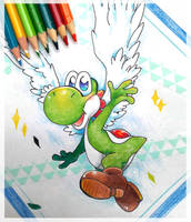 May 2| Yoshi by PaperLillie