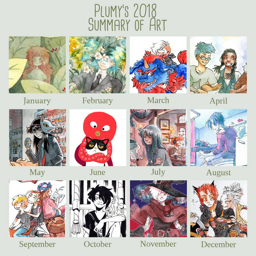 2018 Summary of art by Resosphere