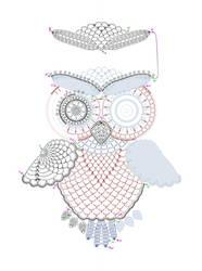 Crochet owl pattern by tasamajamarina