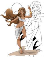 Commission : Marina 2 by Lady-Darky