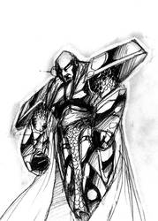 Thrakkiss Original Sketch by johnbty