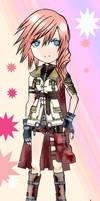 FFXIII: Chibi Lightning by mikami-kun