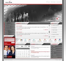Tecom Portal by waseemarshad