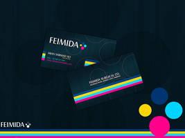 FeimidaBusinesscard by waseemarshad