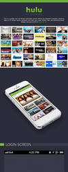 Free PSD - Hulu iPhone App Redesign by waseemarshad