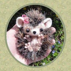 Baby Hedgehog Crochet Pattern by peggytoes