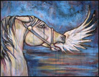 Screaming Wing by JackalStar