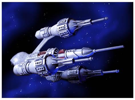 Blakes 7 Liberator by slycherrychunks