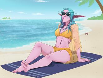 Commission for Sabrina by Nanihoo