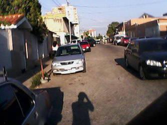 My Shadow on Amengual St by Japewrewis