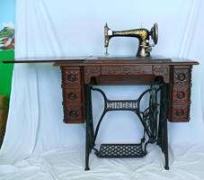 1901 Sewing Machine by monqy88