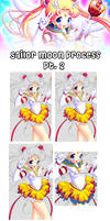 Sailor Moon Process Part 2 by Tetiel