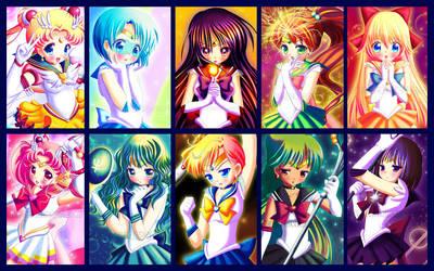 Sailor Moon Tribute by Tetiel