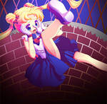 Usagi in Wonderland by Tetiel