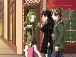 Christmas Shopping by Tetiel