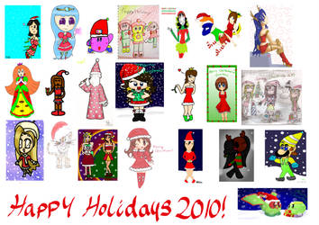 collab-Christmas 2010 :D by Peach-X-Yoshi
