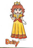 .:Princess Daisy:. by Peach-X-Yoshi