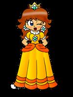 Princess Daisy by Peach-X-Yoshi