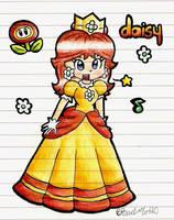 Cute Princess Daisy by Peach-X-Yoshi