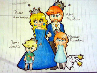 Rosalina's Family by Peach-X-Yoshi