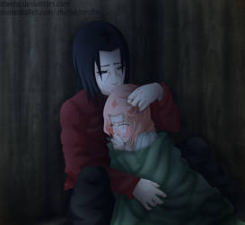 Itasaku - Holding you by Zhyrhe