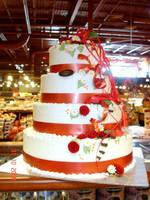 Wedding cake demo by buttercreamfantasies