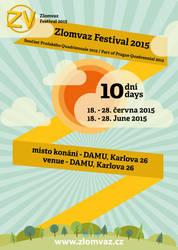 SpaceLab Zlomvaz Festival 2015 Poster by Primorf
