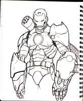 War Machine Sketch by acarabet