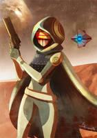 Destiny Hunter by warobruno