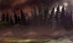 Dark forest by warobruno