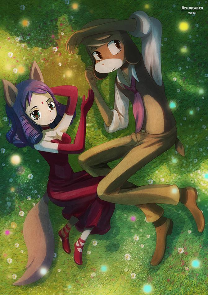 Kiroho Et Lise by warobruno