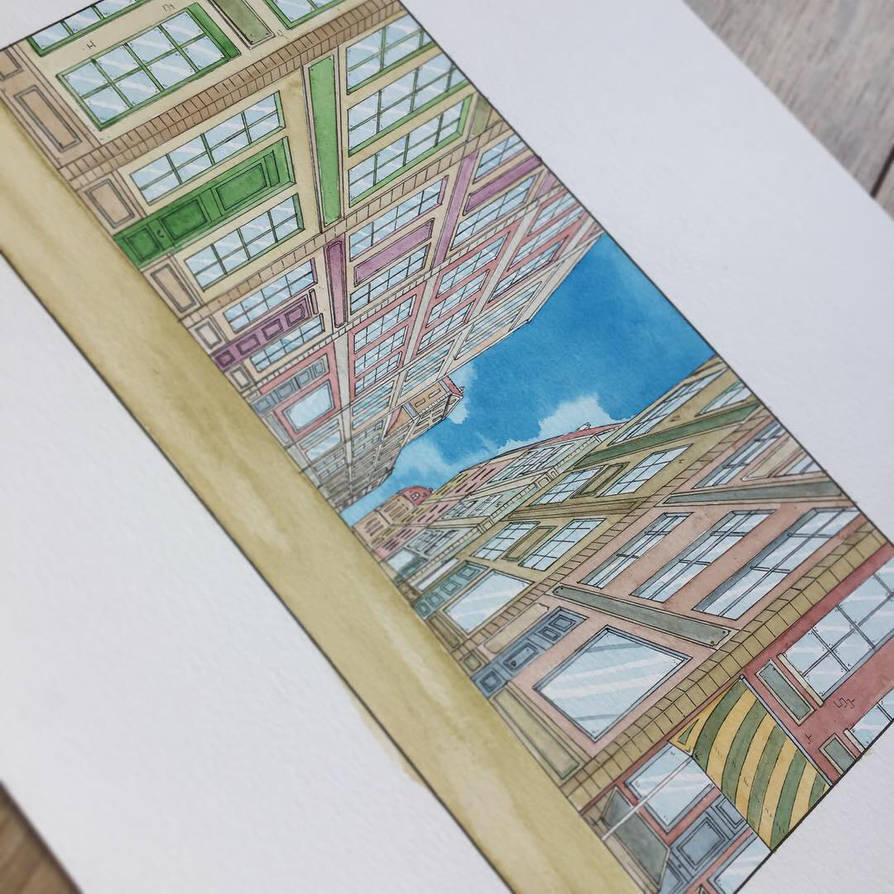 Kiroho case watercolor by warobruno
