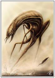 Alien Hunt by TGHarrison