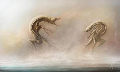 Alien Territorial Battle by TGHarrison
