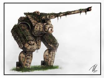 Sniper Mech by TGHarrison