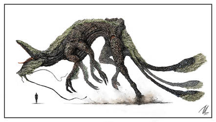 Aged-Kaiju by TGHarrison