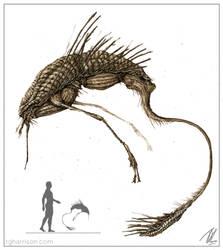 Alien Parasite (Tone) by TGHarrison