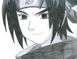 sasuke by laurax