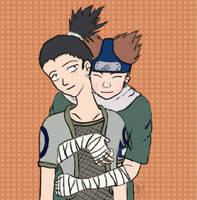 Chouji and Shikamaru by tatsuyasaverem