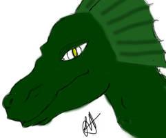 A Dragon by tatsuyasaverem