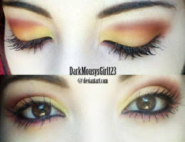 Sunny Side-Up Makeup by DarkMousysGirl123