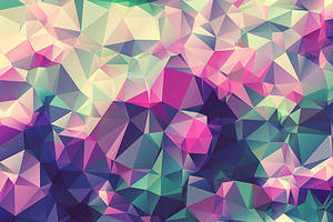 Free Polygonal / Low Poly Background Texture #3 by RoundedHexagon
