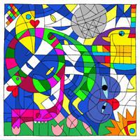 Happy Birthday Devious Disco by rav3ncald