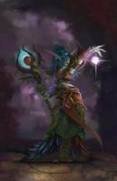 Night Elf Druid by NotBySight1109