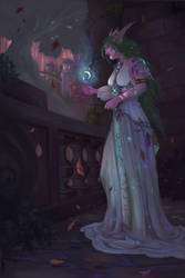 Tyrande Whisperwind by NotBySight1109