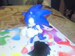 Sonic The Hedgehog Figurine by MarioBlade64