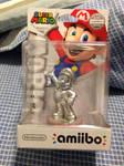 Silver Mario Amiibo by MarioBlade64