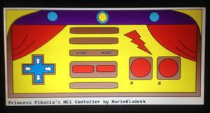 Princess Pikasia's NES Controller by MarioBlade64